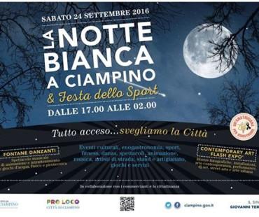 notte bianca a Ciampino
