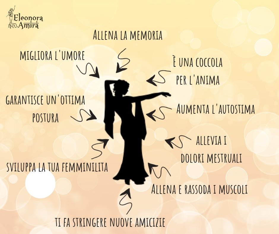 Benefici danza del ventre