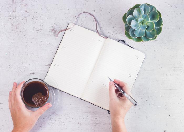 Scrivere sui quaderni